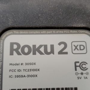 roku Accessories - Roku 2 XD model 3050R...new with box opened